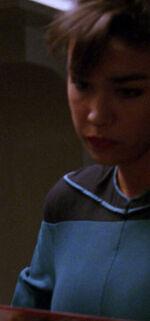 Female medical officer 2366, alternate timeline