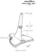 Hallmark Romulan Warbird stand concept design by Rick Sternbach