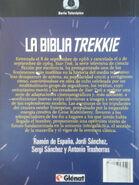 La Biblia Trekkie contraportada