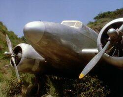Lockheed L-10 Electra (voorkant)