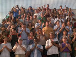 Publikum beim Baseball