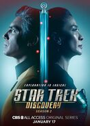 Star Trek Discovery Season 2 Christopher Pike and Philippa Georgiou poster