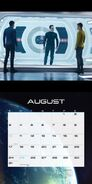 Star Trek Into Darkness Calendar 2014 August