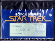 Star Trek The Motion Picture Blueprints packaging