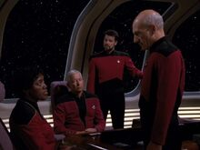 Starfleet meeting