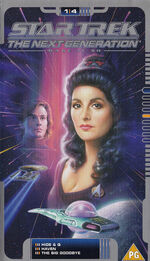 TNG 1.4 UK VHS cover