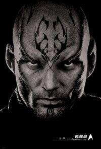 Trek 2009 theatrical teaser poster, Bana
