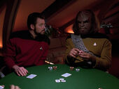 Worf and Riker experience nIb'poH