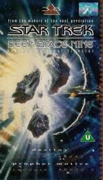 DS9 3.8 UK VHS cover