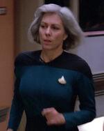 Female medical officer, 2364