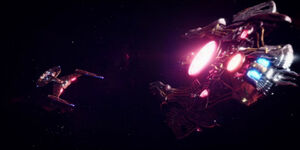 Klingon destroyer engages Discovery