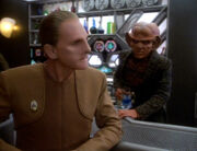 Odo and Quark discuss fantasy