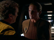 Replicant O'Brien with Odo