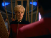 Sisko und Nechayevs sprechen über den Maquis