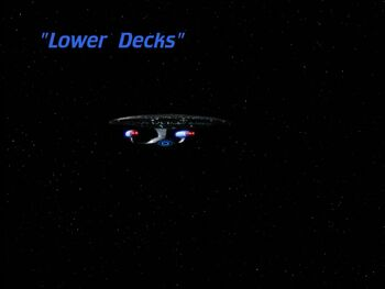 Lower Decks title card