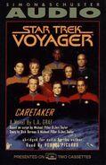Caretaker audiobook, US cassette cover