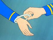 Chapel's titanium bracelet