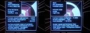 DS9 computer screen, aphasia virus
