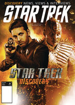 Star Trek Magazine US issue 68 PX cover