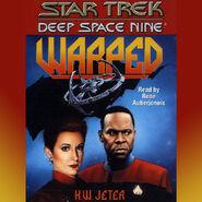 Warped audiobook cover, digital edition