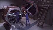 Zellenschiff an Bord der Enterprise