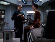 Der Doktor beruhigt Icheb
