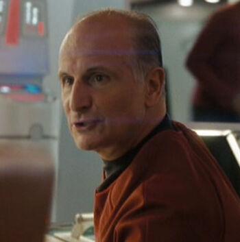 ...as an <i>Enterprise</i> officer