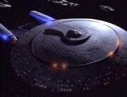 Galaxy-Klasse lädt Hauptphaserbank