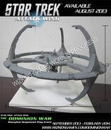 Star Trek Attack Wing DS9 prototype