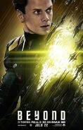 Star Trek Beyond Pavel Chekov poster
