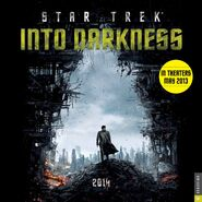 Star Trek Into Darkness Calendar 2014