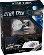 Star Trek USS Enterprise NCC-1701 and 1701-A Illustrated Handbook with collectible
