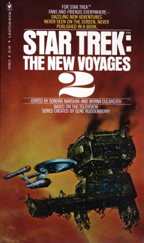 The New Voyages 2 (Bantam Cover 1)