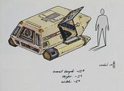 Type 15 Shuttlepod preliminary sketch