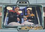 Voyager - Season One, Series One Trading Card N1