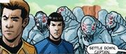Countdown to darkness, Kirk, Spock et les Phaedans