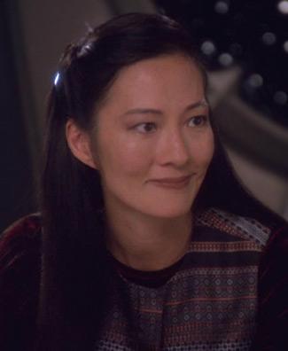 """Keiko O'Brien in <a href=""""/wiki/2374"""" title=""""2374"""">2374</a>"""