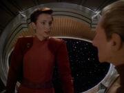 Kira versteht Bajors Bild von Winn nicht