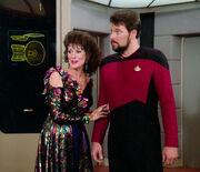 Lwaxana claims Riker