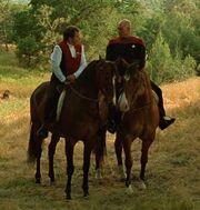 Picard Kirk riding