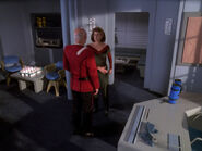 Picard gets slapped in Earhart quarters