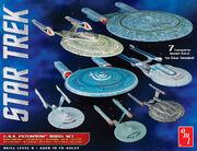 Round2 Model kit AMT954 Enterprise-SET-SNAP 2017