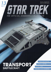 Star Trek Official Starships Collection Shuttle Issue 13