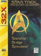 Star Trek Starfleet Academy Starship Bridge Simulator 32X cover