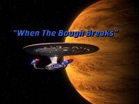 When the Bough Breaks - scena tytułowa