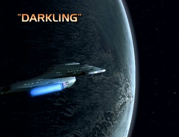 Darkling title card