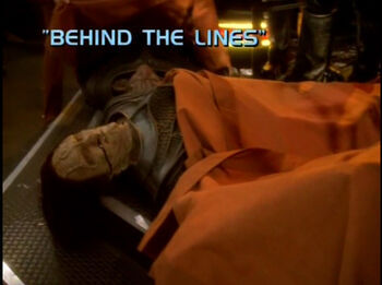 Behind the Lines title card