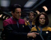 Chakotay übernimmt mit den Maquis die Voyager