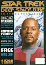 DS9 Poster Magazine issue 10 cover