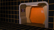 Holodeck Zugang der USS Enterprise